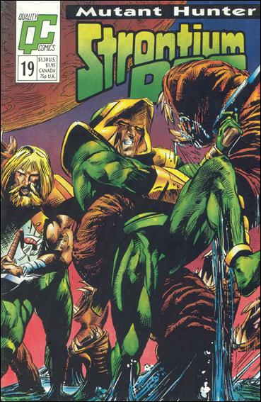 Strontium Dog (1987) 19-A by Quality Comics