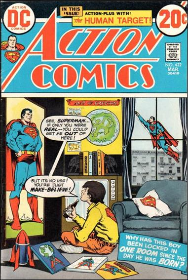 Action Comics (1938) 422-A by DC