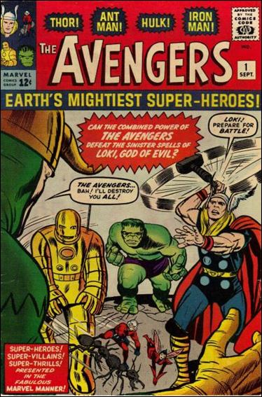 Avengers (1963) 1-A by Marvel