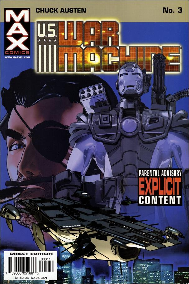 U.S. War Machine 3-A by Max