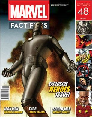 Marvel Fact Files 48-A