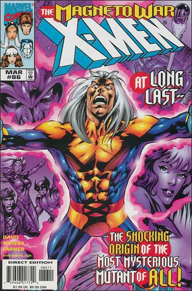 X-Men (1991) 86-A by Marvel