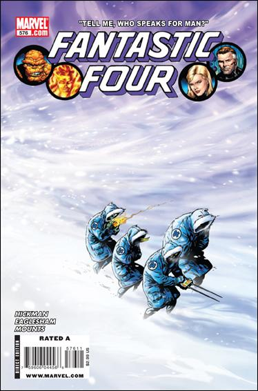 Fantastic Four (1961) 576-A by Marvel