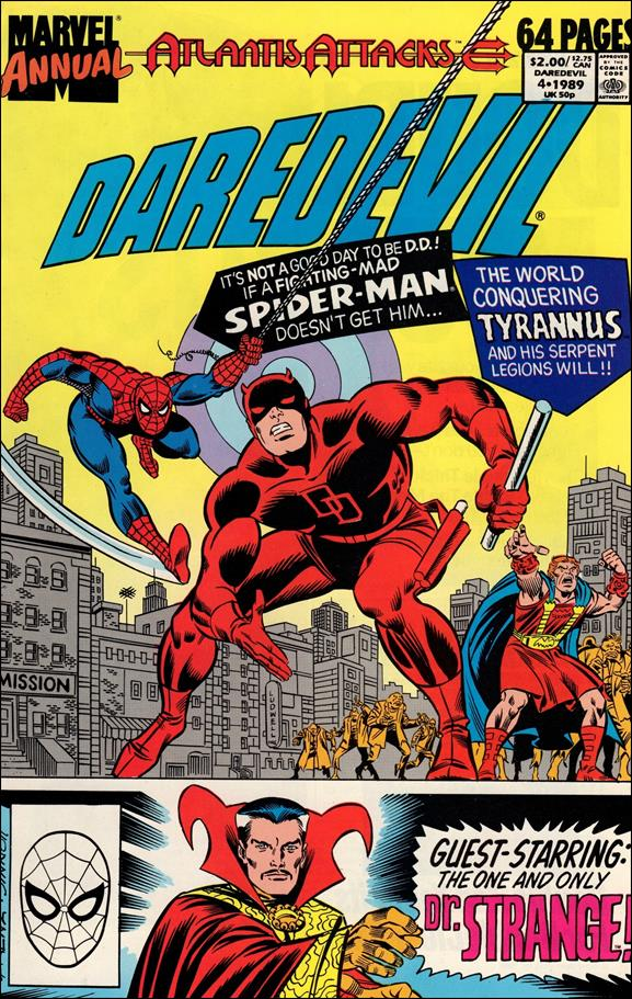 Daredevil Annual (1967) '4'-A by Marvel