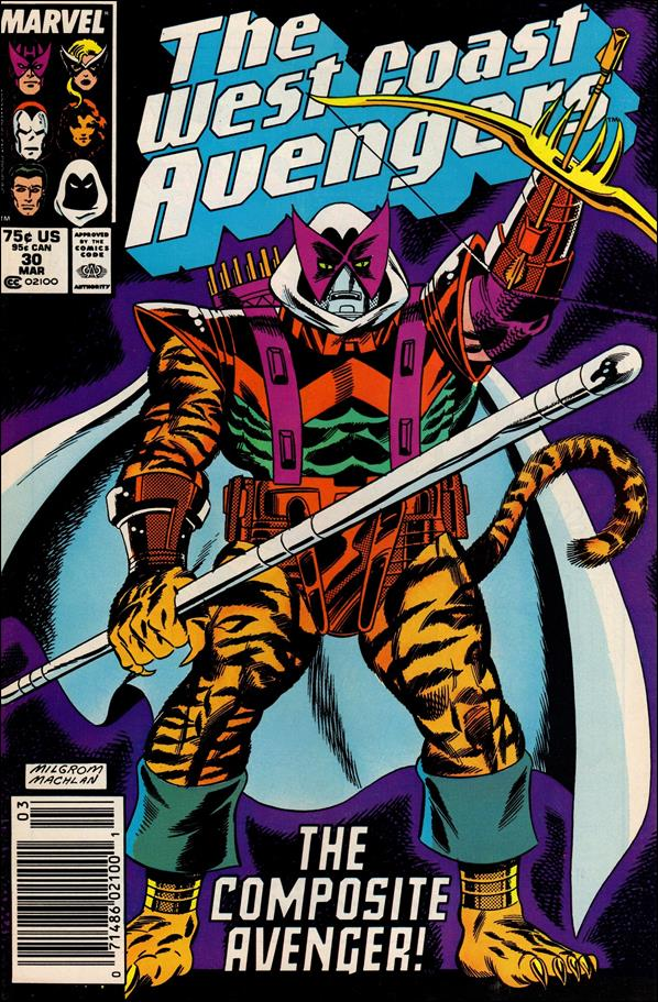 West Coast Avengers (1985) 30-A by Marvel