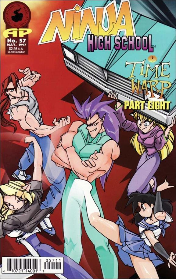 Ninja High School 57-A by Antarctic Press