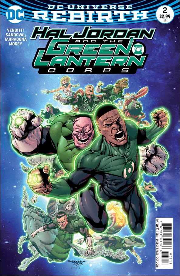 Hal Jordan and the Green Lantern Corps 2-A by DC