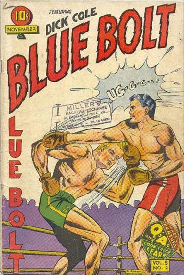 Blue Bolt (1944) 2-A by Novelty Press