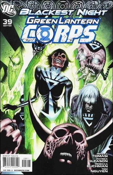 Green Lantern Corps (2006) 39-A by DC