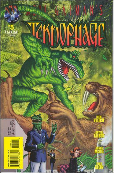 Neil Gaiman's Teknophage 5-A by Tekno•Comix