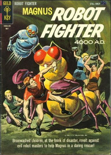 Magnus, Robot Fighter (1963) 6-A by Gold Key