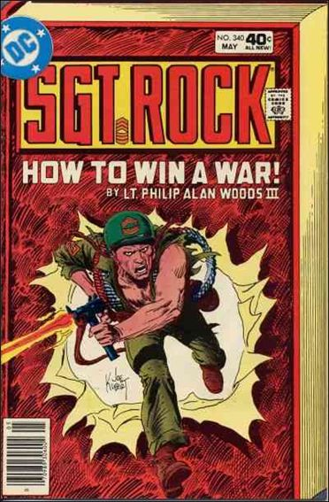 Sgt. Rock (1977) 340-A by DC