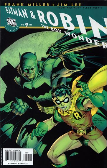 All Star Batman & Robin, the Boy Wonder 9-A by DC