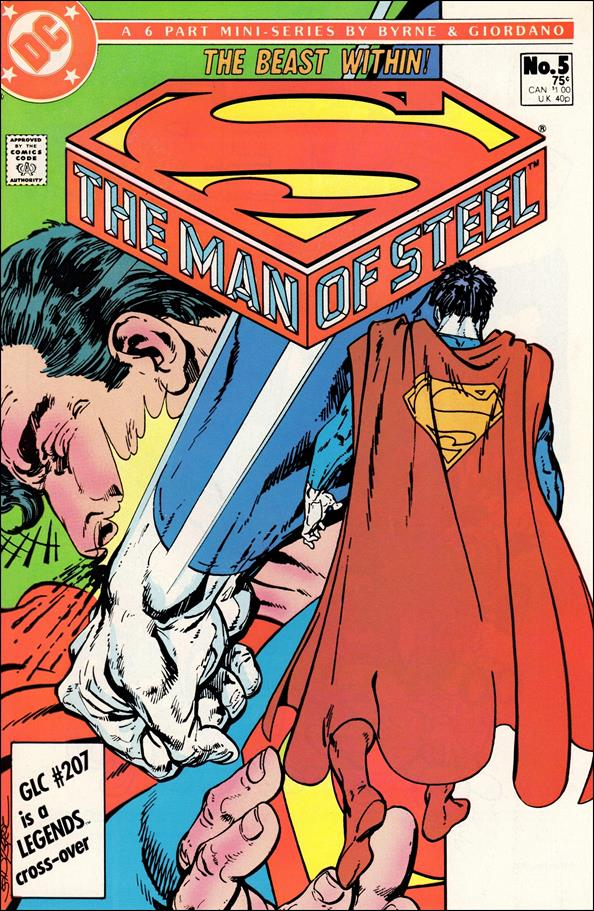 Man of Steel 5-A by DC