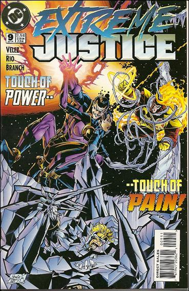 Extreme Justice 9-A by DC