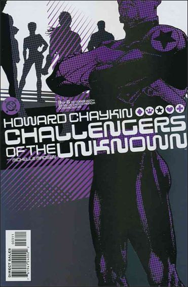 Challengers of the Unknown (2004) 3-A by DC