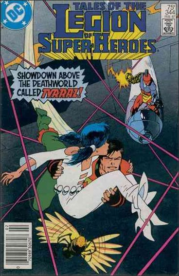Tales of the Legion of Super-Heroes 344-A by DC