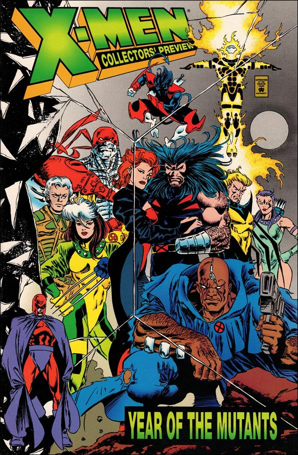 X-Men: Year of the Mutants Collector's Preview 1-A by Marvel