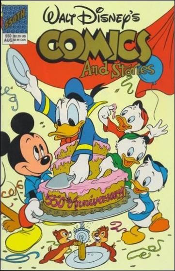 Walt Disney's Comics and Stories (1940) 550-A by Dell