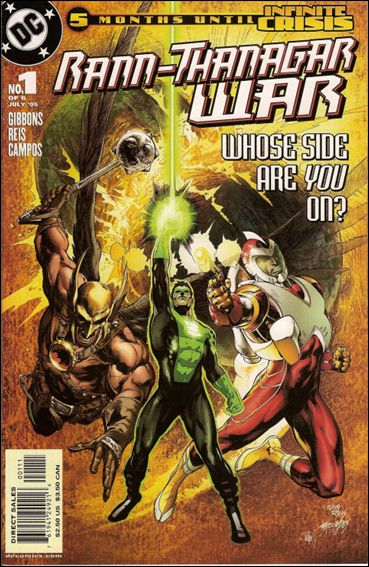 Rann/Thanagar War 1-A by DC