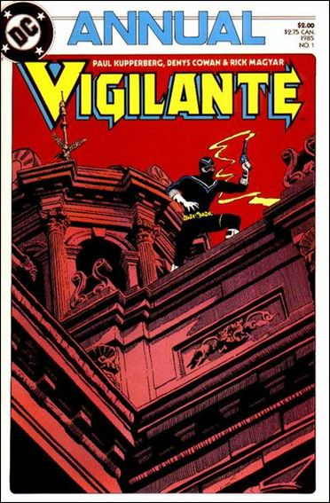 Vigilante Annual 1-A by DC