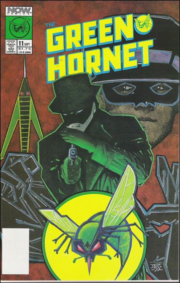 Green Hornet (1989) 11-A by Now Comics