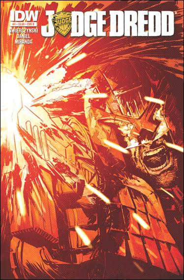 Judge Dredd (2012) 4-B by IDW