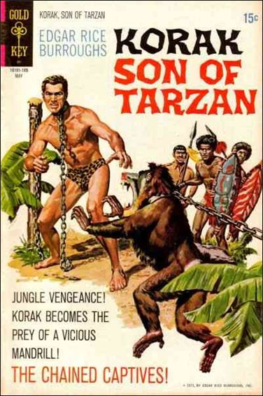 Korak, Son of Tarzan 41-A by DC