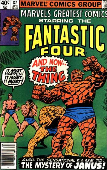 Marvel's Greatest Comics 87-A by Marvel