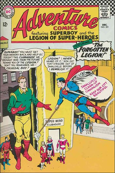 Adventure Comics (1938) 351-A by DC