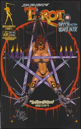 Tarot: Witch of the Black Rose 21-A by BroadSword Comics