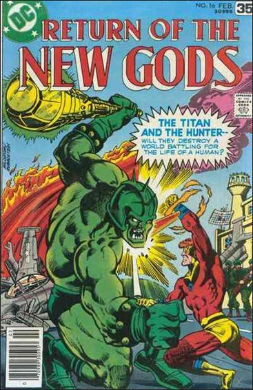 New Gods (1971) 16-A by DC