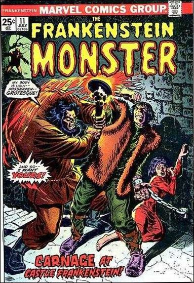 Frankenstein (1973) 11-A by Marvel