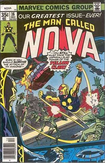 Nova (1976) 16-A by Marvel