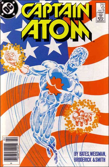 Captain Atom (1987) 12-A by DC