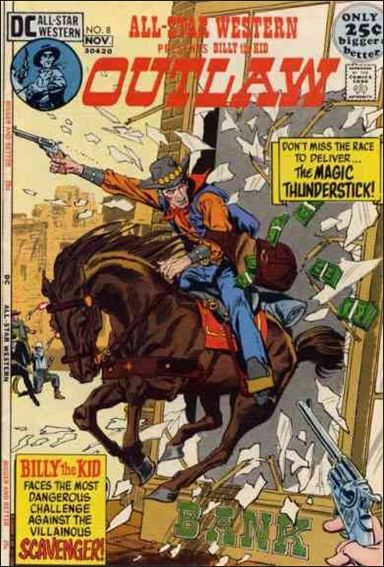 All-Star Western (1970) 8-A by DC