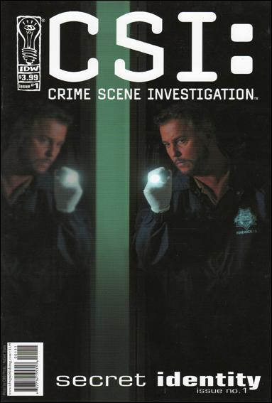 CSI: Crime Scene Investigation-Secret Identity 1-A by IDW