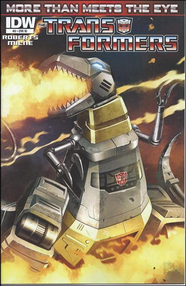 Transformers: More Than Meets the Eye (2012) 8-C by IDW