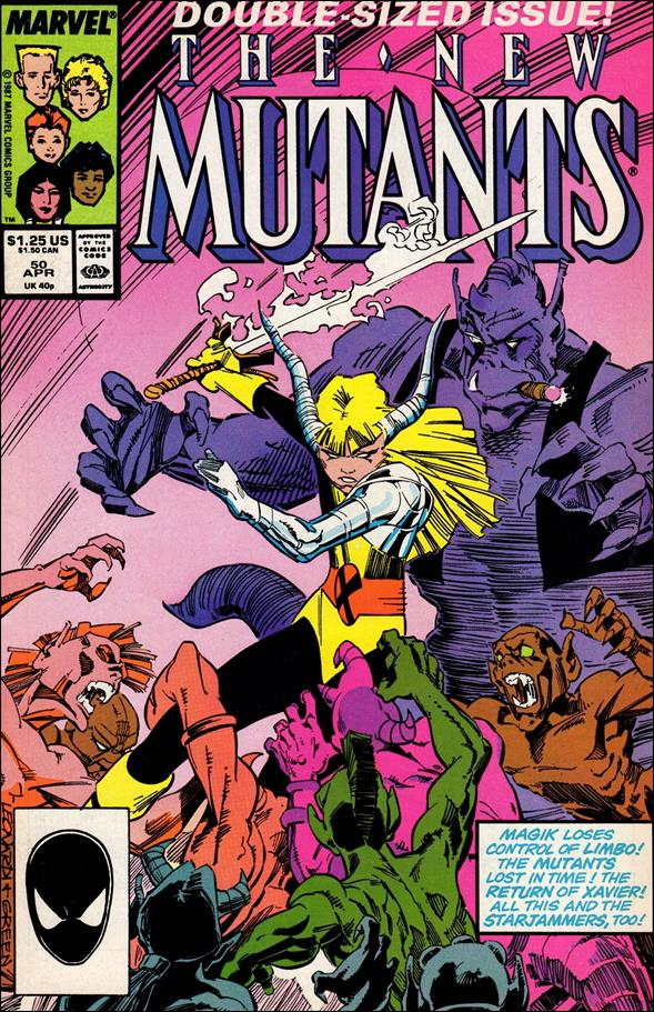 New Mutants (1983) 50-A by Marvel