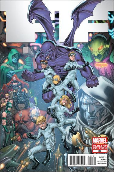 FF (2011) 23-B by Marvel