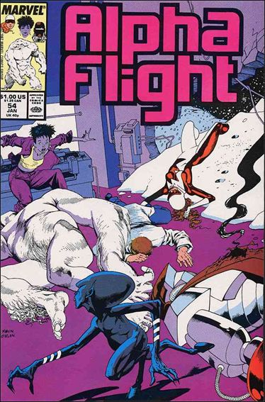 Alpha Flight (1983) 54-A by Marvel