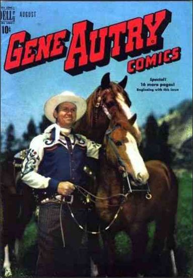 Gene Autry Comics (1946) 30-A by Dell