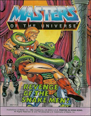 Masters of the Universe (1983) 6.3-A by Mattel