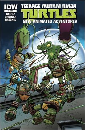 Teenage Mutant Ninja Turtles New Animated Adventures 2-A
