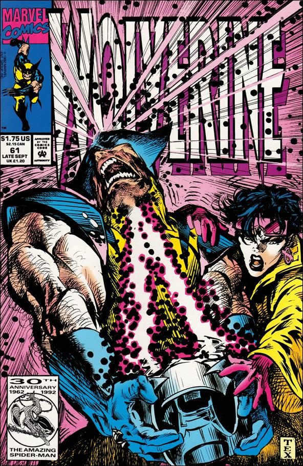 Wolverine (1988)  61-A by Marvel