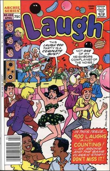 Laugh Comics (1946) 400-A by Archie