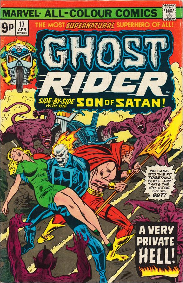 Ghost Rider (1973) 17-C by Marvel
