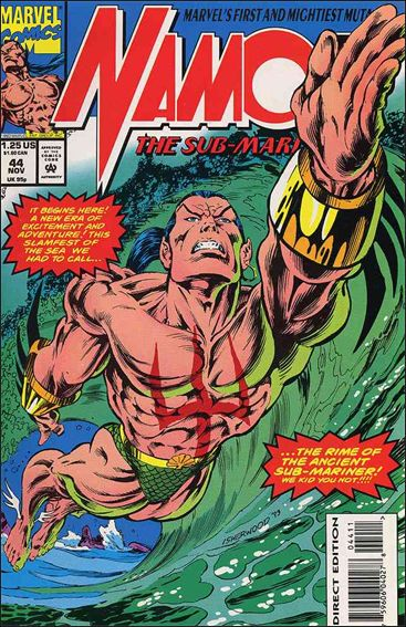 Namor, The Sub-Mariner 44-A by Marvel