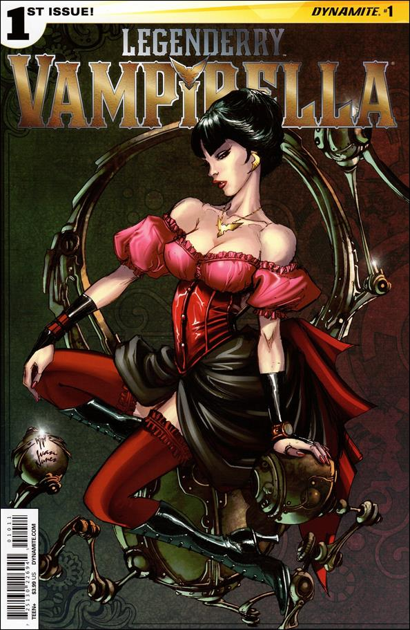 Legenderry Vampirella 1-A by Dynamite Entertainment
