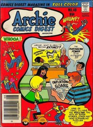 Archie Comics Digest Magazine 49-A